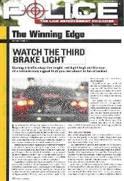 The Winning Edge Watch the Third Brake Light